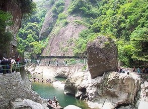 浙东大峡谷旅游