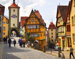 罗腾堡旅游